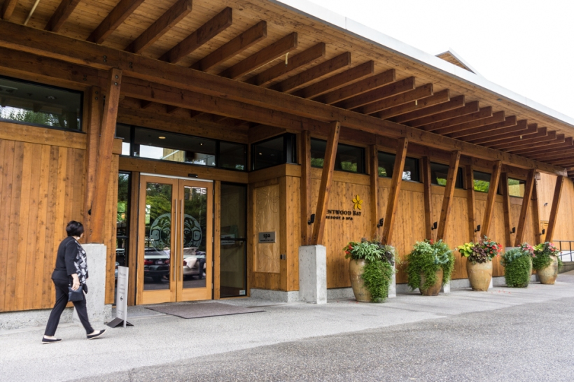 The Brentwood Bay Spa and Hotel