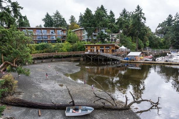 The Brentwood Bay Spa & Hotel.