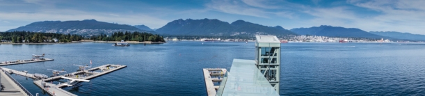 Pano of the harbour front